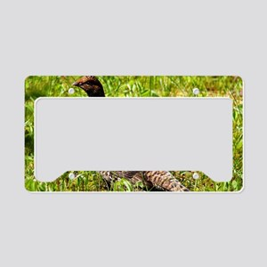 Spruce grouse License Plate Holder
