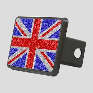 British Glam Rectangular Hitch Cover