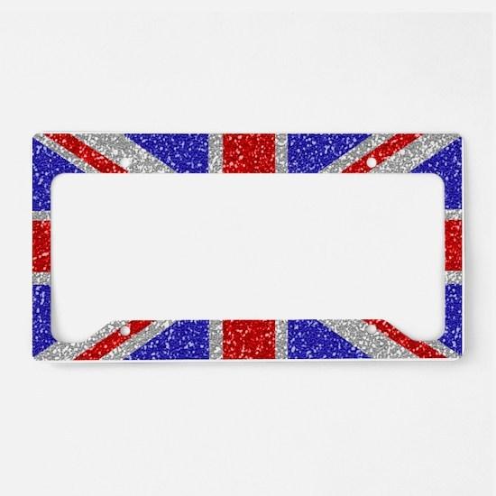 British Glam License Plate Holder