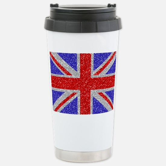 British Glam Stainless Steel Travel Mug