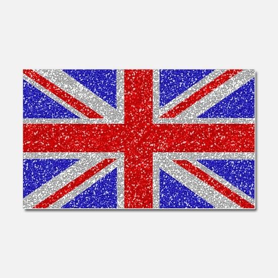 British Glam Car Magnet 20 x 12