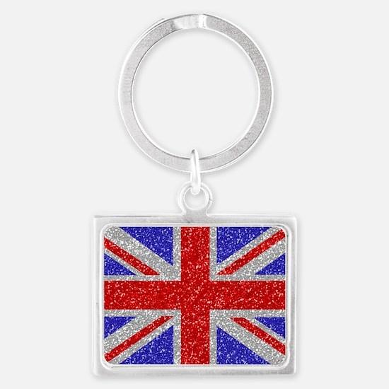 British Glam Landscape Keychain