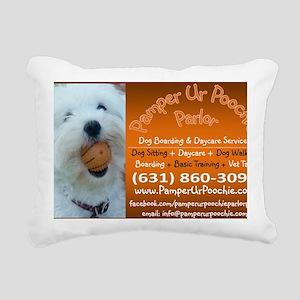 PUPP Large Rectangle Rectangular Canvas Pillow