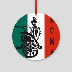 Roma Round Ornament