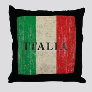 Vintage Italia Throw Pillow