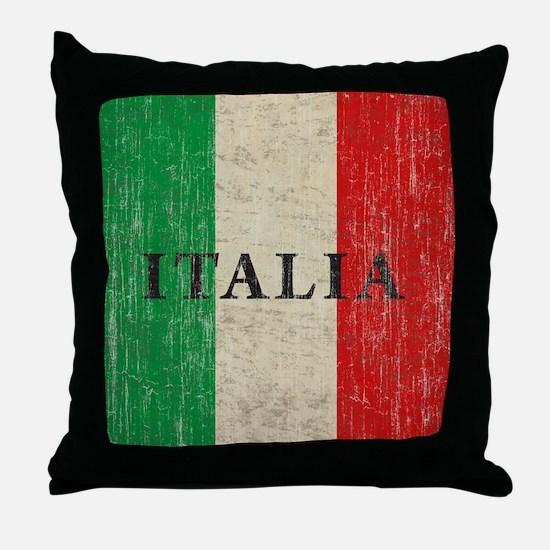 Vintage Italia Throw Pillow