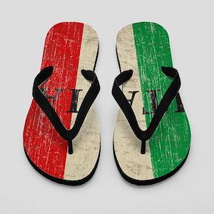 Vintage Italia Flip Flops