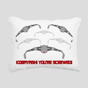 Kobayashi Youre Screwed Rectangular Canvas Pillow