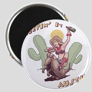 austin-armadillo-T Magnet