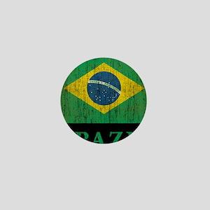 Vintage Brazil Mini Button