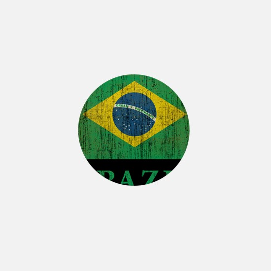 Vintage Brazil Mini Button