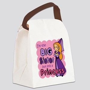 I'm The Big Sister Canvas Lunch Bag