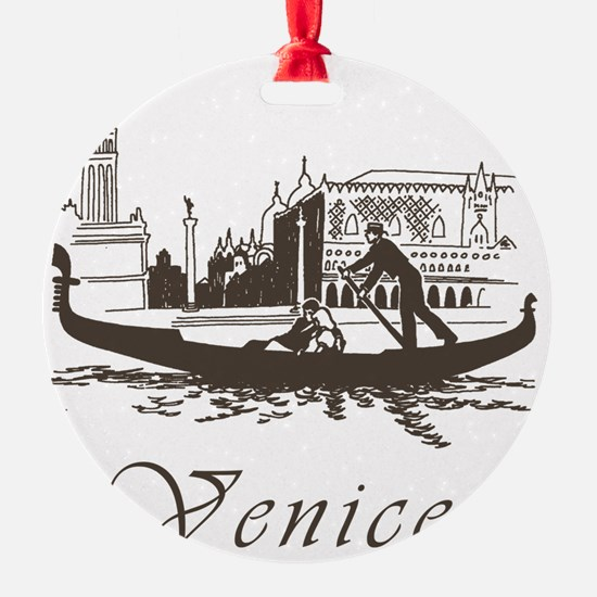 Retro Venice Ornament