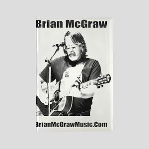 Brian McGraw Photo SHirt Rectangle Magnet
