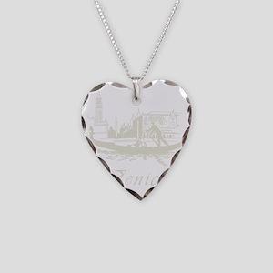 Retro Venice Necklace Heart Charm