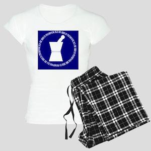 retired pharmacist blue DAR Women's Light Pajamas
