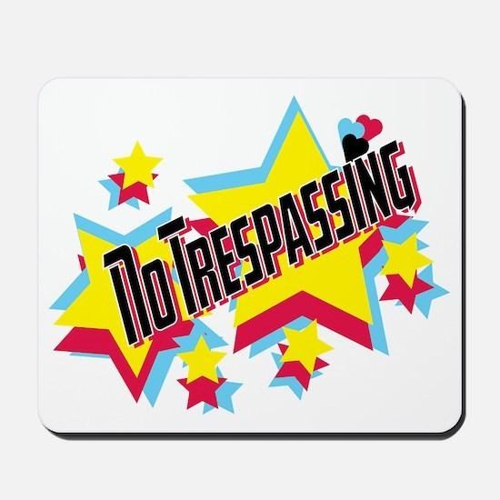 no trespassing glambert concert wear Mousepad