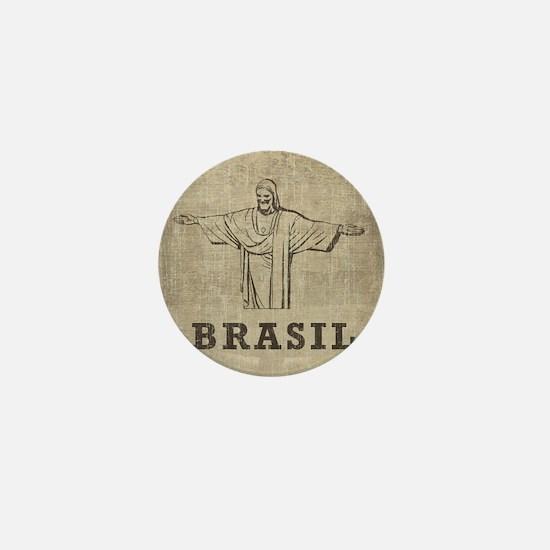 Vintage Christ The Redeemer Mini Button