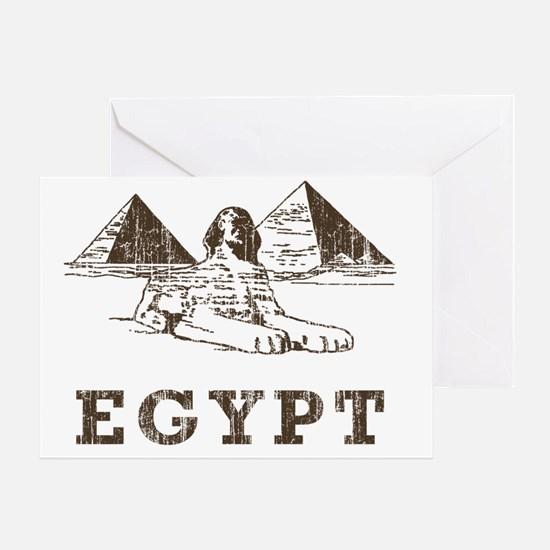 Vintage Egypt Greeting Card