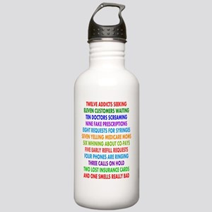 PHARMACIST 12 DAYS OF  Stainless Water Bottle 1.0L