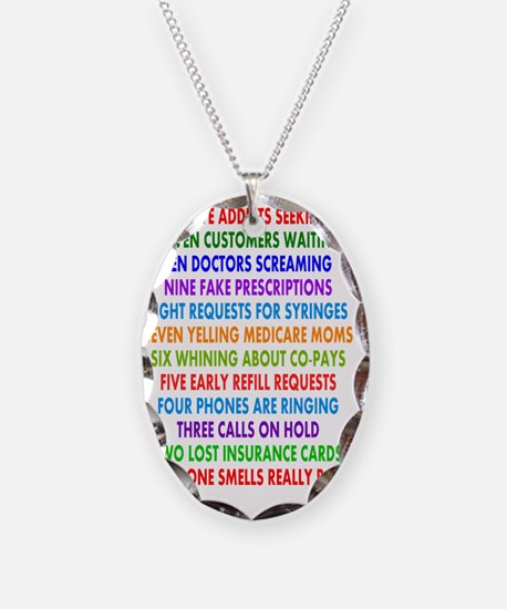 PHARMACIST 12 DAYS OF CHRISTMA Necklace