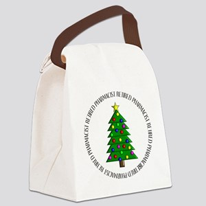 retired pharmacist ornament Canvas Lunch Bag