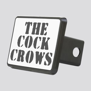 THE COCK CROWS Rectangular Hitch Cover