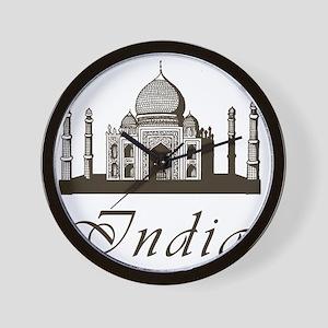 Retro Taj Mahal Wall Clock