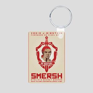 SMERSH Aluminum Photo Keychain