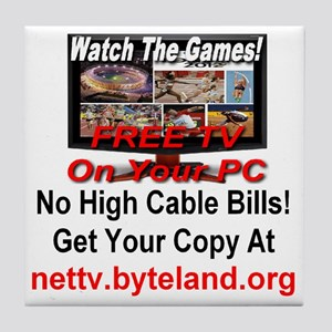 Watch The Games! Free TV on Your PC! Tile Coaster