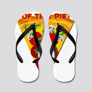 Want A Slice of This Pie? Flip Flops