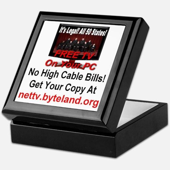 Its Legal All 50 States Free TV On Yo Keepsake Box