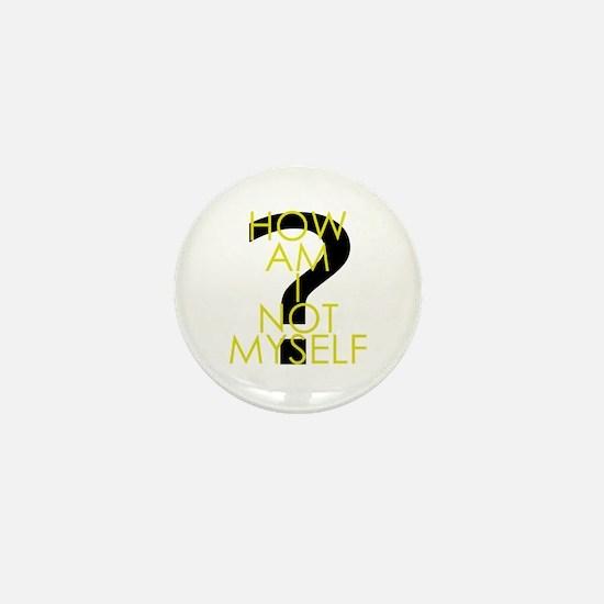 How am I not an inverted Huckabee Mini Button