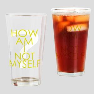 How am I not a Huckabee? Drinking Glass