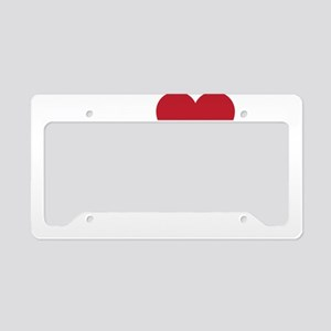 I Love Xining License Plate Holder