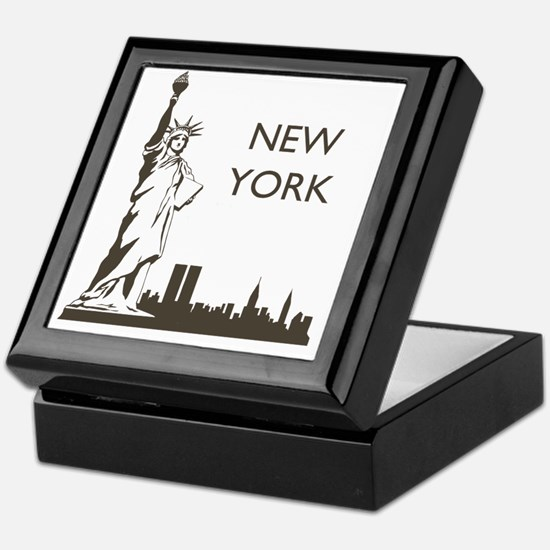 Retro New York Keepsake Box