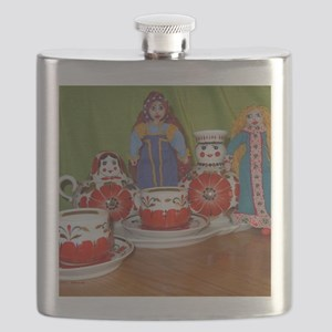 DollyTeaPillow Flask