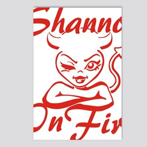 Shannon On Fire Postcards (Package of 8)