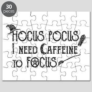 Hocus Pocus, I need Caffeine to Focus Puzzle