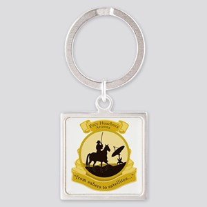Fort Huachuca Square Keychain