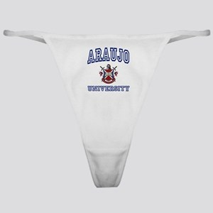 ARAUJO University Classic Thong