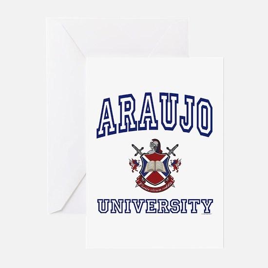 ARAUJO University Greeting Cards (Pk of 10)