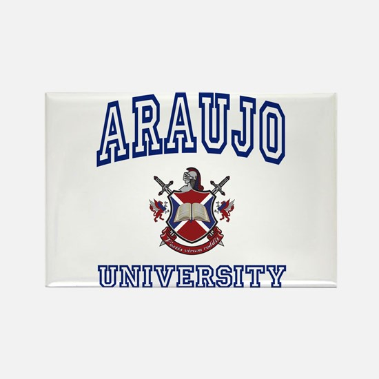 ARAUJO University Rectangle Magnet