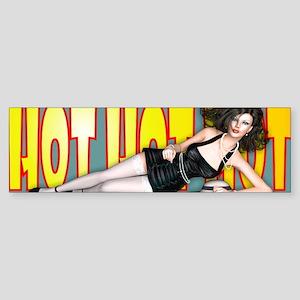 Hot Hot Hot - La Petite Fille Sticker (Bumper)