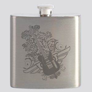 Wings Guitar Flask