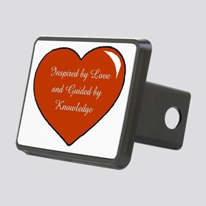 Inspired by Love Heart Rectangular Hitch Cover