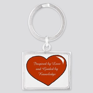 Inspired by Love Heart Landscape Keychain