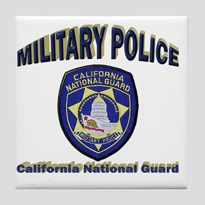 California National Guard MP Tile Coaster