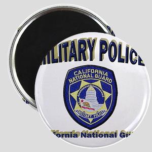 California National Guard MP Magnet