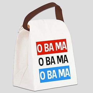 Obama Shop 2012 Canvas Lunch Bag